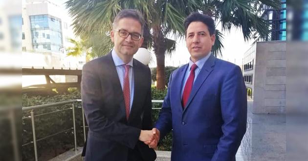 رئيس لجنة الخارجية يتلقى اتصالا من السفير الألماني لدى ليبيا