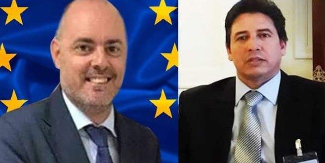رئيس لجنة الخارجية بمجلس النواب يناقش القضايا المشتركة مع رئيس بعثة الاتحاد الأوروبي