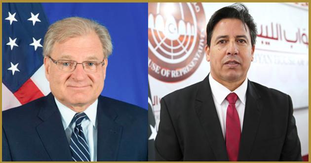 رئيس لجنة الخارجية يتلقى اتصالا هاتفيا من السفير الأمريكي