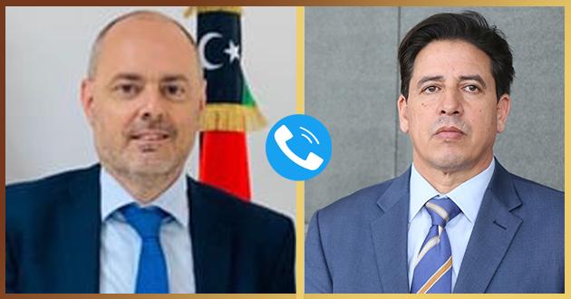 رئيس لجنة الخارجية يؤكد علي أهمية دور الاتحاد الأوروبي لدعم الاستقرار في ليبيا .