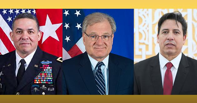 رئيس لجنة الشؤون الخارجية يتباحث مع الجانب الأمريكي سبل دعم الاستقرار في ليبيا