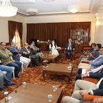 لقاء الرئيس نشطاء قبيلة المغاربة