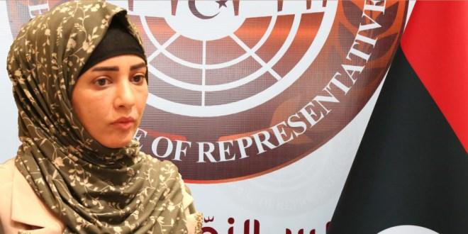 فاطمة بوسعدة: نبارك للشعب الليبي وصول اول شحنة من اللقاحات المضادة لفايروس كورونا المستجد.
