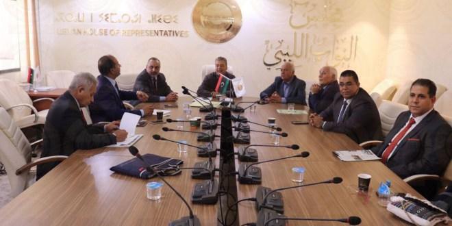لجنة التخطيط والمالية والموازنة العامة بمجلس النواب  تجتمع برئيس مجلس التخطيط الوطني