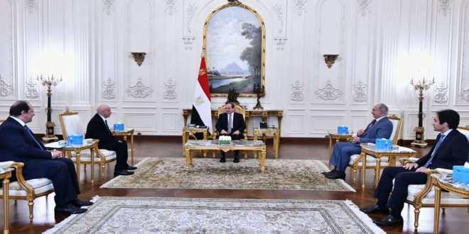 رئيس جمهورية مصر العربية يستقبل رئيس مجلس النواب و القائد العام للقوات المسلحة الليبية
