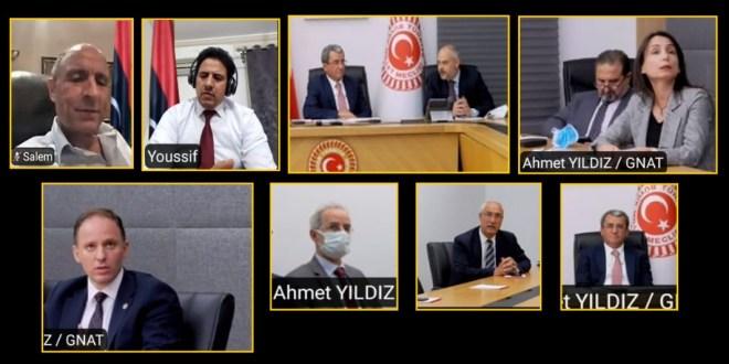 لجنة الشؤون الخارجية تجتمع بعدد من أعضاء مجلس الأمة التركي