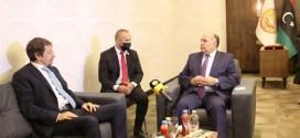 رئيس ديوان مجلس النواب يلتقي القنصل الإيطالي في بنغازي