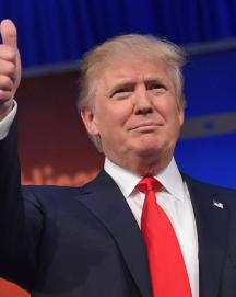 Donald Coming up Trumps in Republican Race