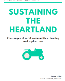 Report: Government urged tackle 'chronic connectivity' in rural farming communities