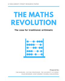 Maths Revolution – a Parliament Street paper