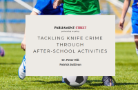 NEW RESEARCH – Tackling knife crime through after-school activities