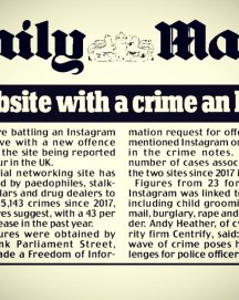 Parliament Street in the Daily Mail