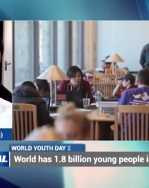 WATCH – Calvin Robinson discusses Education on International Youth Day 2019