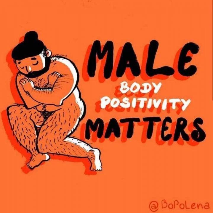 Body Positivity ou un mouvement qui concerne aussi les hommes