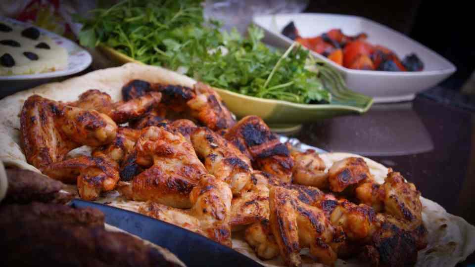 poulet au barbecue