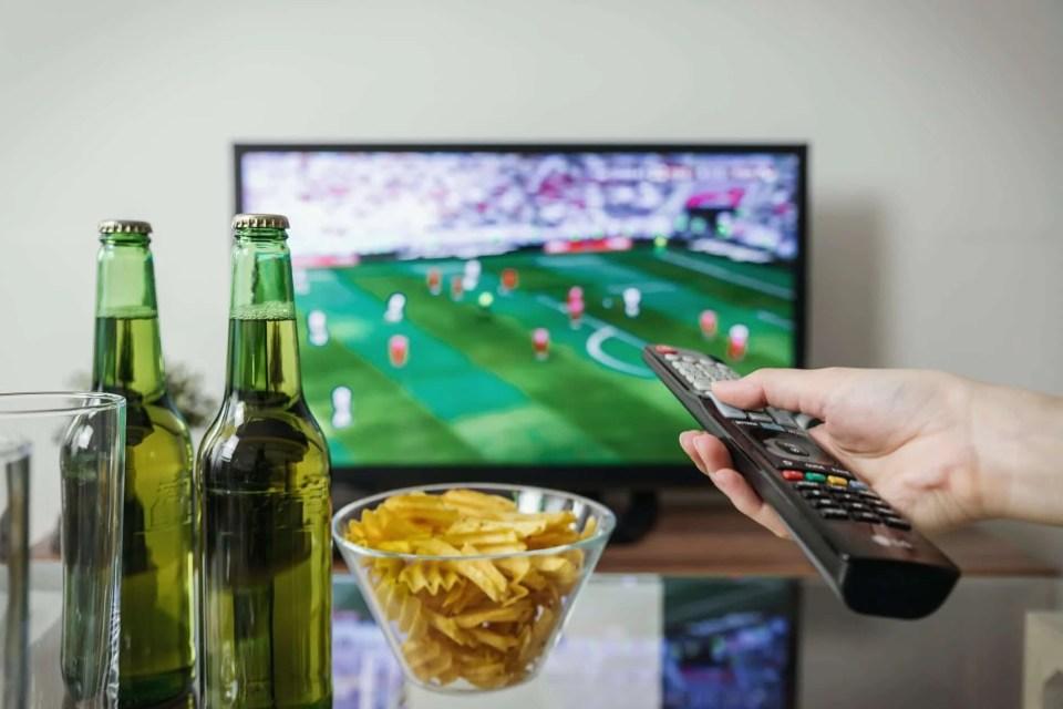bière et football
