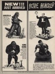 monster model ads