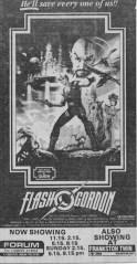 flash gordon ad