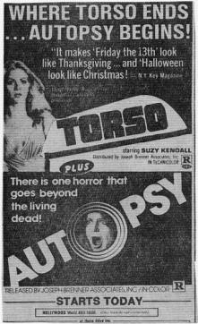 torso and autopsy double feature