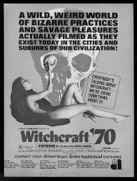 Witchcraft '70 trade publication ad