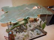 What Lurks beneath - Creature diorama