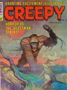 frank frazetta - pic 11 - creepy magazine cover