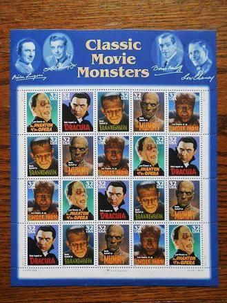 US Postal Monster Stamps
