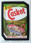 casket wacky packs