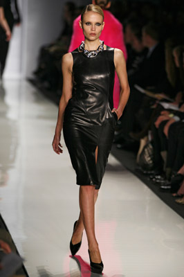 kors fashion 6_ leather dress