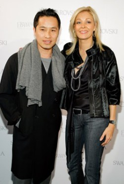 Phillip Lim and Nadja Swarovski