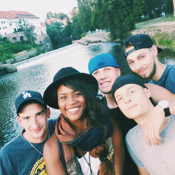 You will regularly take selfies with strangers. Many of them. So prepare. These boys from the Czech Republic asked nicely :)