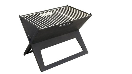 Stainless Steel Notebook Compact Grill 560
