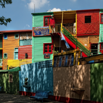 The Colors of Boca, Buenos Aires. | Trey Ratcliff for http://www.stuckincustoms.com