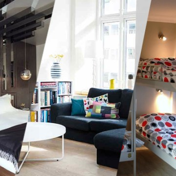 Pick your style. Hotel, Hostel or Airbnb