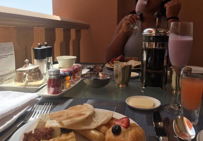 Breakfast at the Sultanah