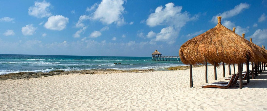 The beaches of Riviera Maya