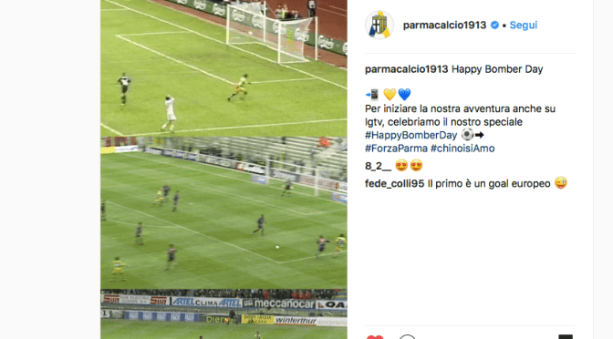 Parma Calcio 1913 on InstragramTV