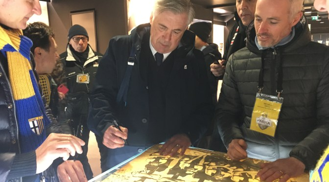 Ancelotti and Parma: a family meeting