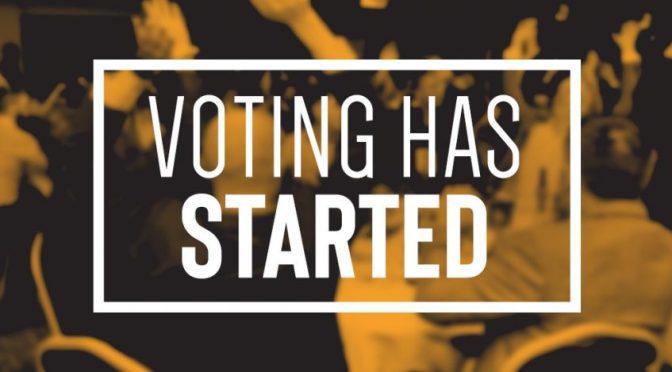 請支持我們,投下你神聖的一票!