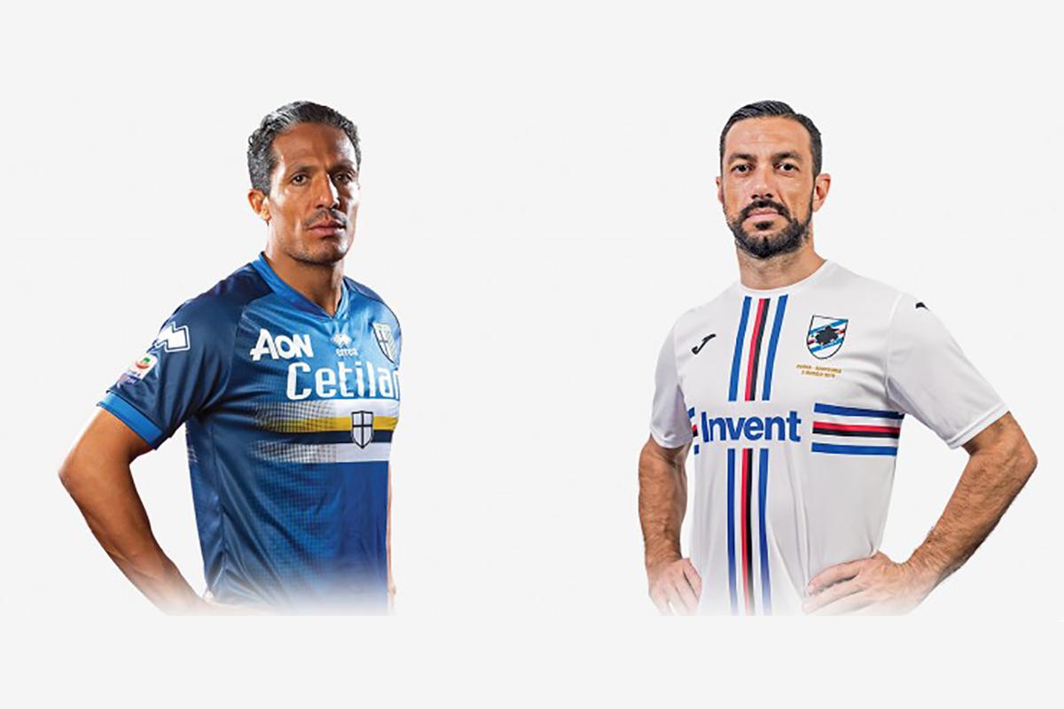 Parma and Sampdoria: an historical celebration