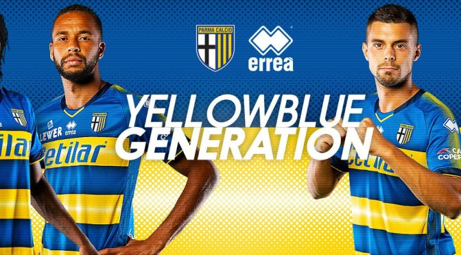 Yellowblue generation: Parma 2019/20 away kit