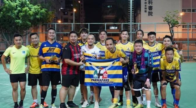 Parma Fans HK won the fans league