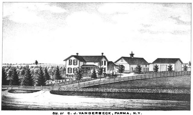 residence of cj vanderbeck parma new york