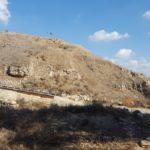 Тель Лахиш - ассирийская насыпь