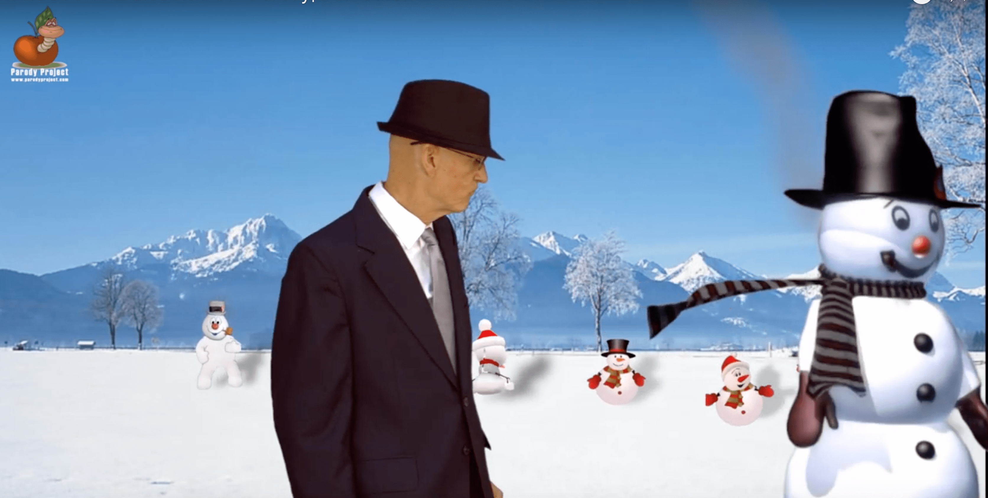 FROSTY THE SNOWMAN – Parody