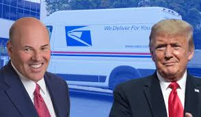 Postmaster General with Donald Trump