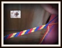 brăţară tricoloră