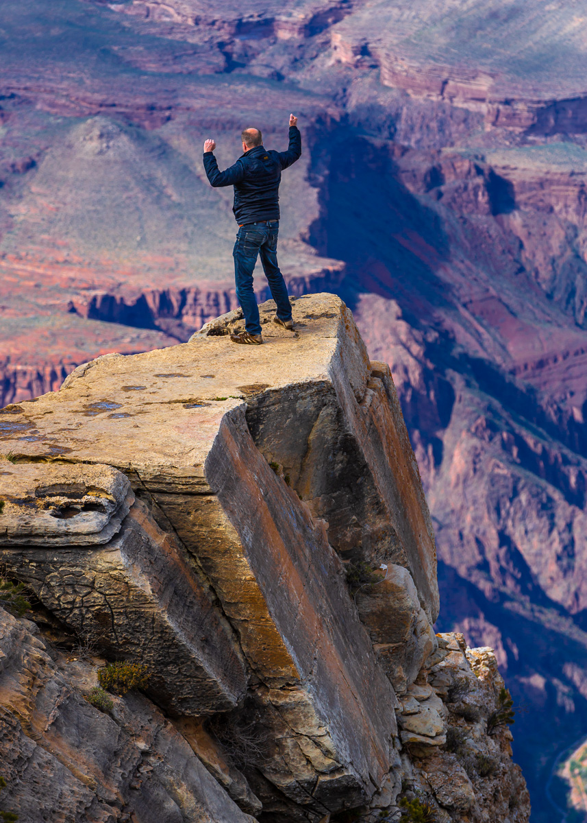 Daredevil i Grand Canyon