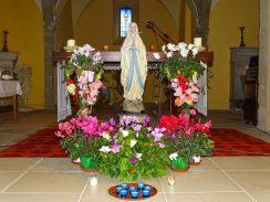 8 décembre église de Bougé