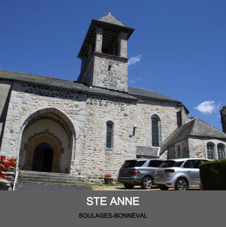 Eglise de Soulage - paroisse Sant Guiral